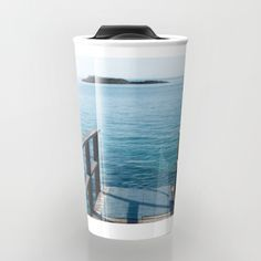 Buy Into the sea Travel Mug by xiari photography. Worldwide shipping available at Society6.com. Just one of millions of high quality products available.