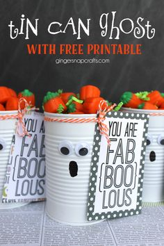tin-can-ghost-with-free-printable-gingersnapcrafts-halloween                                                                                                                                                                                 More