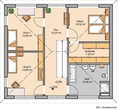 Kern-Haus Stadtvilla Signus Grundriss Obergeschoss