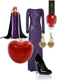 """""""Evil queen (Snow White)"""" by mollylsanders on Polyvore"""