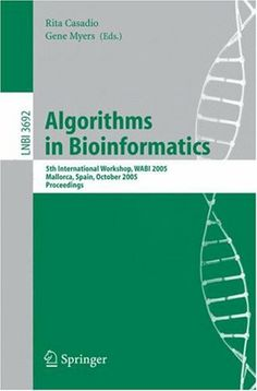Algorithms in Bioinformatics
