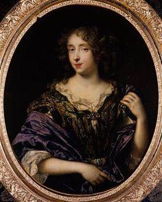 Portrait  de madame de Saint-Germain par Pierre Mignard (1612-1695)