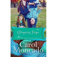 Glimpsing Hope, written by Carol Moncado, is book 2 of Serenity Landing Second Chances series.   Once again Moncado brings us the beloved characters that she's introduced us to in bits and pieces throughout her series. This book we get to know Christopher Bayfield and Julia Quisenberry much more. This book reminds me of the old time marriage of convenience yet in modern day setting.   I've loved the way that Moncado brings characters into the fairy tale life of kings, queens, princes....