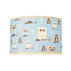 Owls Drum Shade Ceiling Light Kids Rooms Ideas