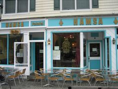 Hamsa Restaurant in Tenafly, New Jersey. A great Kosher grill restaurant serving Israeli style cuisine. Great service, VERY Yummy food and beautiful decor.    Supervision: Organized Kashrus Laboratories (OK)    http://www.findakosherrestaurant.com/details/United-States/New-Jersey/Tenafly/07670/Hamsa-Restaurant