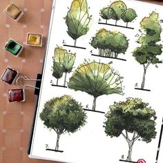 37 New Ideas for gsce art sketchbook ideas drawings Landscape Architecture Drawing, Landscape Sketch, Landscape Drawings, Landscape Design, Art Drawings, Architecture Fails, Building Architecture, Ancient Architecture, Sustainable Architecture