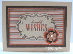 card by Christine Adams using CTMH Buzz and Bumble paper