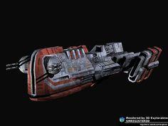 Republic Fleet Systems: Foray-Class Blockade Runner (Old Republic)