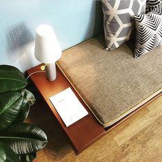 Soft atmosphere at in Paris thanks to our Vulcain lamp by 🌿 . Paris Design, Love Design, Modern Luxury, Floor Chair, Ottoman, Furniture Design, Designers, Interiors, Interior Design