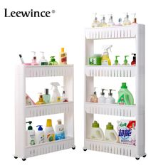 Leewince Multipurpose Bathroom Storage Storage Rack Shelf Multi-layer Refrigerator Side Shelf Shelf with Removable Wheels Crack. Subcategory: Home Furniture. Storage Trolley, Storage Rack, Storage Shelves, Food Storage, Bathroom Hardware, Bathroom Fixtures, Bathroom Shelves, Bathroom Storage, Toilet Storage