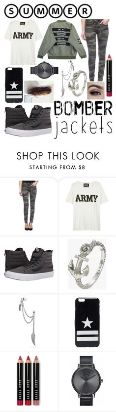 """Be the bomb not the lighter"" by mawill1028 ❤ liked on Polyvore featuring True Religion, Chicnova Fashion, NLST, Vans, Zoe & Morgan, Bling Jewelry, Givenchy, Bobbi Brown Cosmetics, Nixon and bomberjackets"