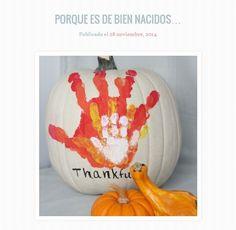"""""""Porque es de bien nacidos..."""" by Seño Punk.   Adaptar Acción de Gracias para aprovecharlo con los niños"""