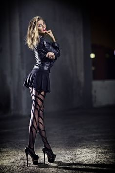 This is a collection of some pictures of sexy long-legged girls wearing high heels I've found via...