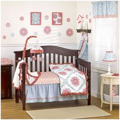 CoCaLo Dahlia - Four Piece Crib Set - Best Price