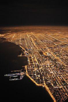 Lights Of Chicago, Illinois