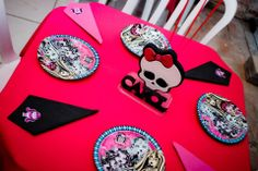 Birthday Table Monster High