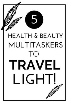 Save time, money and room in your suitcase with these health and beauty multitaskers to pack for your next trip! Check out other pro packing tips, videos and more to make the most of your next travel adventure!