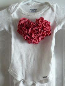 Small Fry & Co. : Ruffle Heart T-shirt
