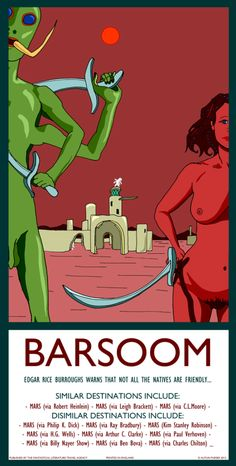 Classic Sci-fi/Fantasy Travel Posters For Our Literature Nerds | Page 2 | The Mary Sue