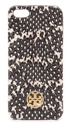 Chic snakeskin iPhone case.