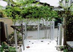 シャープな外構と、自然な植栽が織りなす、上質な空間(兵庫県)6