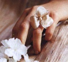 Gioielli fai da te: crea un anello in madreperla