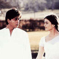 SRK and Aishwarya Rai