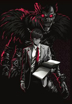Death Note by Alexander Iaccarino - Online Manga Death Note Anime, Death Note Fanart, Death Note デスノート, Death Note Light, Death God, Manga Anime, Anime Boys, Anime Art, Shinigami