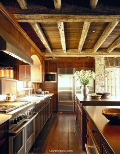 Rustic kitchen photography decor flowers country kitchen