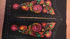 Evy Eilertsen. Baksaumer 2016 Cross Stitch Embroidery, Tassels, Felt, Sky, Costume, Wool, House, Heaven, Felting