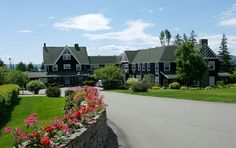 Inverary Inn, Baddeck, Nova Scotia ~ Inverary Resort offers you accommodations and cottages right on the waterfront of Baddeck, Alexander Graham Bell's beloved Cape Breton home, and the starting point of the world-famous Cabot Trail. Cabot Trail, Balloon Flights, Atlantic Canada, Sailing Adventures, Cape Breton, Prince Edward Island, Hotel Deals, Canada Travel, Nova Scotia