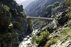 But you can also leave the city and go on a gorgeous hike, like to the Bridge to Nowhere in the San Gabriel Mountains. | Proof That Southern California Is Totally Heavenly