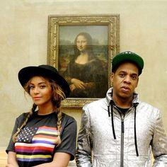 "(@blondemagazine)'s Instagram photos   Intagme - The Best Instagram Widget ""Sleeping every night next to Mona Lisa"" Picasso Baby Beyonce & Jay-Z"