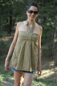 Hey, I found this really awesome Etsy listing at http://www.etsy.com/listing/163492134/handmade-upcycle-yellow-pattern-shirt