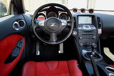 Nissan Love the red seats! Nissan 370z, Datsun 240z, Nissan Silvia, Honda S2000, Honda Civic, Nissan Skyline, Skyline Gtr, Import Cars, Modified Cars
