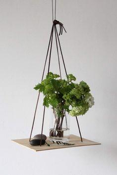 Urban Jungle Bloggers: Hanging Planters via @knobz