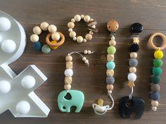 DIY Schnullerketten Babyspielzeug Holzspielzeug