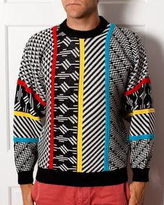 The Best 80s Sweater  XSTATX  Vintage Sweater by GreatWhiteVintage, $69.00 /// www.art-by-ken.com