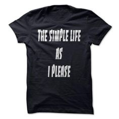 Simple Life T-shirts - #tie dye shirt #plain tee. LIMITED AVAILABILITY => https://www.sunfrog.com/Faith/Simple-Life-T-shirts.html?68278