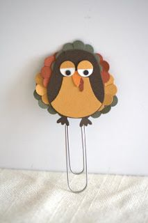 Turkey decorations for thanksgiving, punch art turkey, owl puch stampin up complete instructions in how to make the turkey.