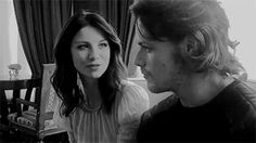 jamesandclairefraser — driacomalfoy: The way she is looking at him (。◕ ‿...