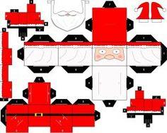 ' Santa Claus  ' Cubeecraft by SHONADH01