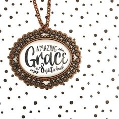 Your place to buy and sell all things handmade Light Project, Amazing Grace, One Pic, Tray, Things To Come, Vintage Fashion, Pendants, Inspirational, Chain