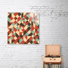 Discover «Abstract Geometry 5», Numbered Edition Aluminum Print by Yury Velikanov - From $59 - Curioos