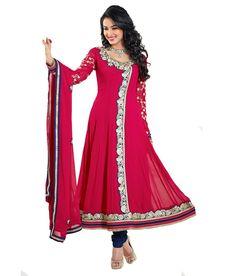Loved it: Craze N Demand Deep Pink Designer Wear Anarkali Salwar Kameez, http://www.snapdeal.com/product/craze-n-demand-deep-pink/1942667193?vendorCode=49d597&