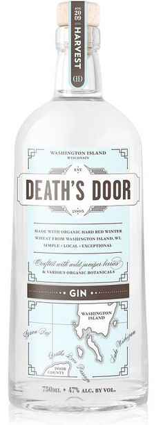 Death's Door Gin, $30