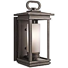 "Kichler South Hope 19 3/4"" High Bronze Outdoor Wall Light"