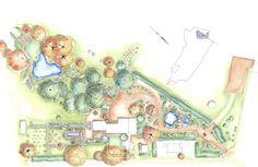 Lubra Bend, Yarra Glen, Victoria {Phillip Johnson - Garden Designer}
