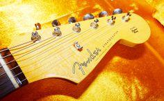 Fender American Vintage 62' Stratocaster Headstock