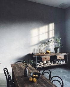 moody dining room inspiration via @_designtales_ on instagram. / sfgirlbybay
